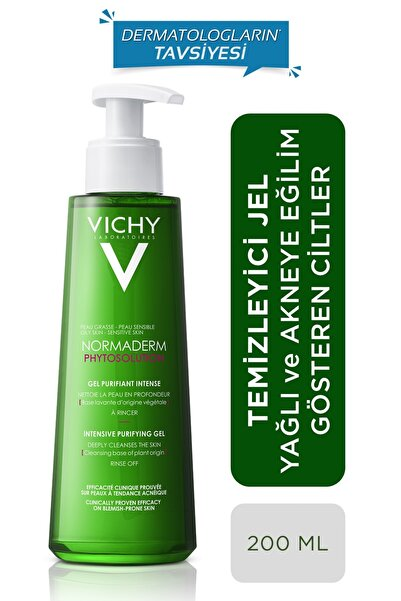 Vichy Arındırıcı Jel Normaderm Phytosolution Intensive Purifying Gel 200 ml 3337875663076
