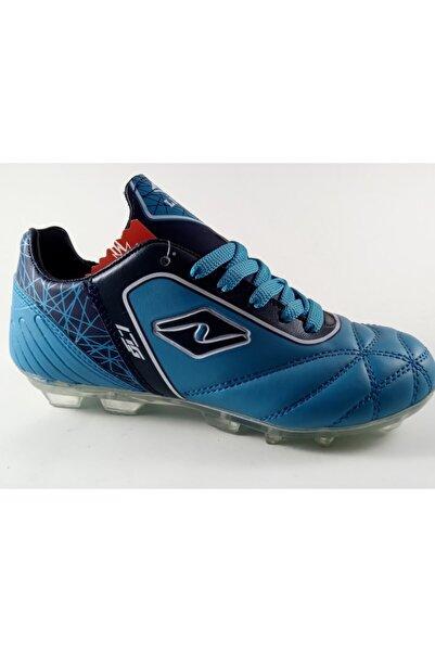 Lion Çocuk Mavi Krampon Ayakkabı