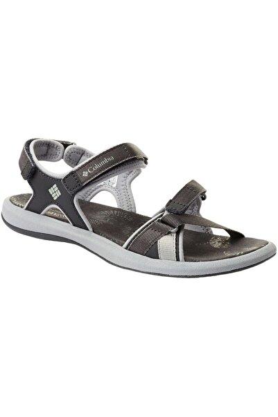 Columbia Kadın Siyah Cırtlı Sandalet