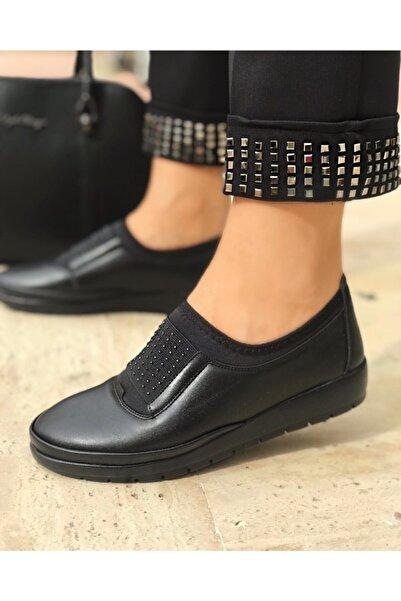 Gökcen Topuk Jelli Ortopedik Kadın Ayakkabısı