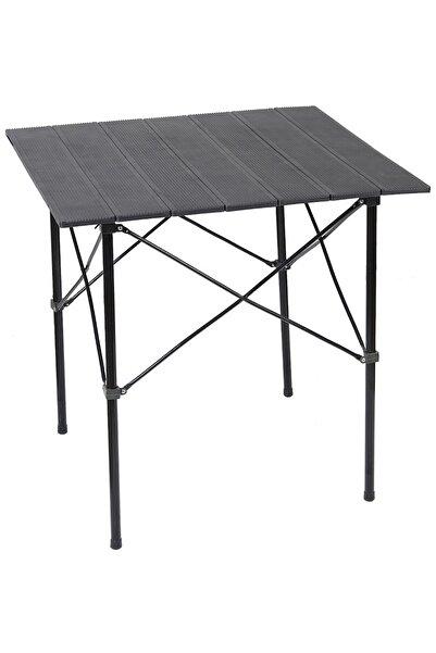 Tedarikcenter Katlanır Masa 66x70 Cm Kamp Masası Bahçe Piknik Masası Katlanabilir