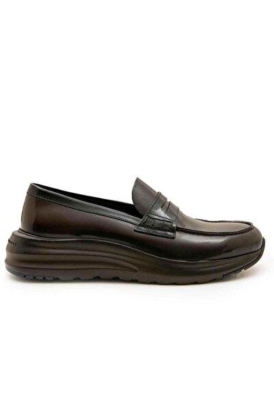 Fratelli Rossetti Erkek Kahverengi Kemerli Loafer Ayakkabı