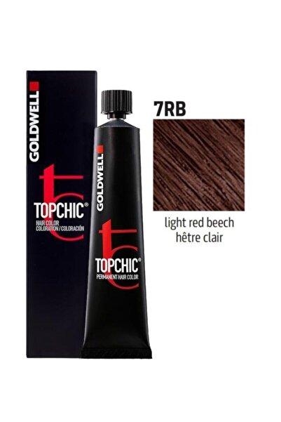GOLDWELL 7rb Açık Kırmızı Kayın Topchich Kalıcı Saç Boyası 60 ml
