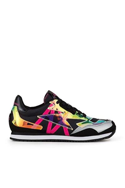 Armani Exchange Kadın Siyah Fuşya Ayakkabı Xdx052 Xv325 A219