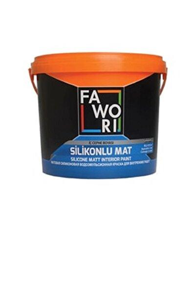 Fawori Silikonlu Mat İç Cephe Duvar Boyası 3.5 kg Açık Mavi