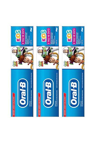 Oral-B Çocuk Diş Macunu Toy Story 225 ml (75*3)