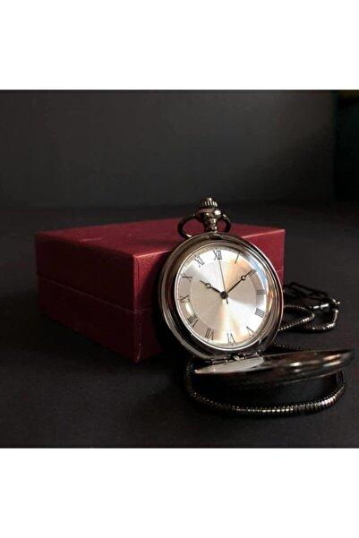 Devrizaman Roma Rakamlı Köstekli Cep Saati