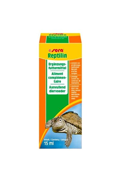 SERA Reptilin Kaplumbağa Ve Sürüngen Vitamini 15 Ml