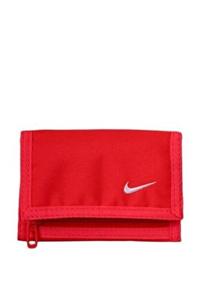 Unisex Basic Wallet Spor Cüzdan Kırmızı