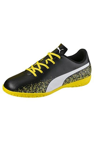 Puma Unisex Siyah Sarı Truora It Futsal Ayakkabısı