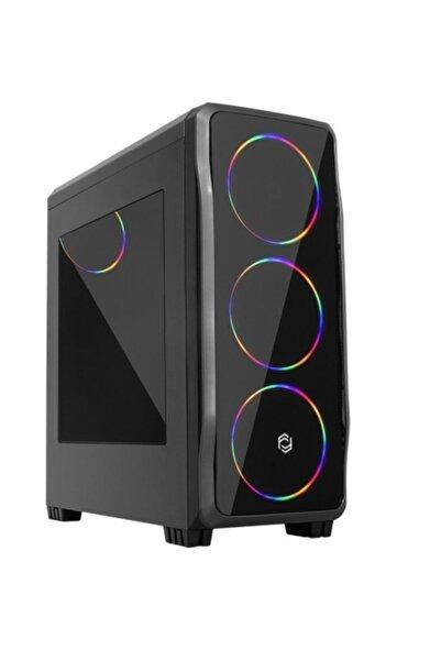 FRISBY Gamemax Fc-9235g 650w 80+ 4x120mm Rainbow Fanlı Gaming Oyuncu Bilgisayar Kasası