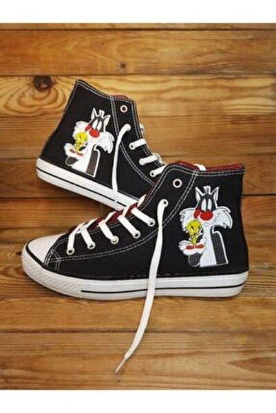 Unisex Siyah Silvestire Sneaker