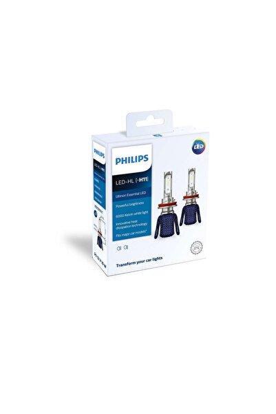 Philips Led Xenon Zenon H11 6200k Beyaz