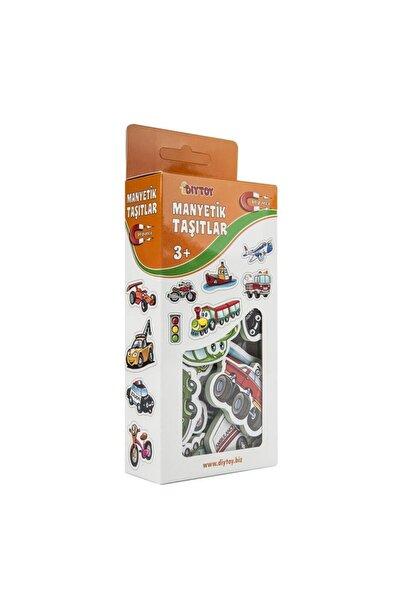 DIY Toys Diy-toy Manyetik Taşıtlar 30 Parça