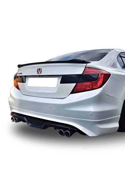 Universal Honda Civic Uyumlu Fb7 Difüzör Custom Boyasız