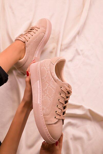 SOHO Ten Yılan Kadın Sneaker 15742