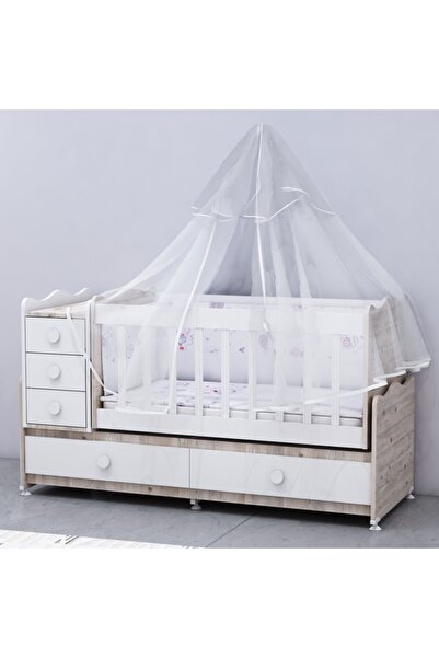 Garaj Home Melina Lüks Uyku Setli Beşik Kombini - Soho