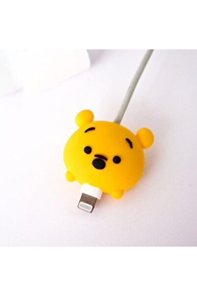 ubalaystore Şarj Kablosu Koruyucu Winnie The Pooh Desenli