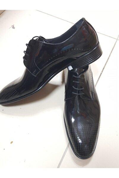 Anıl Erkek Siyah Klasik Deri Ayakkabı
