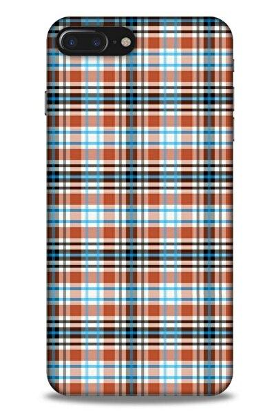 Lopard Gömlek (8) Desenli Silikon Kapak Telefon Kabı Apple Iphone 8 Plus Kılıf