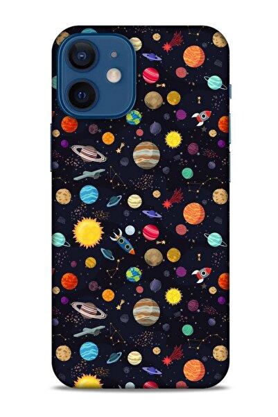 Lopard Spacex (18) Tema Telefon Kılıfları Apple Iphone 12 Mini Kılıf