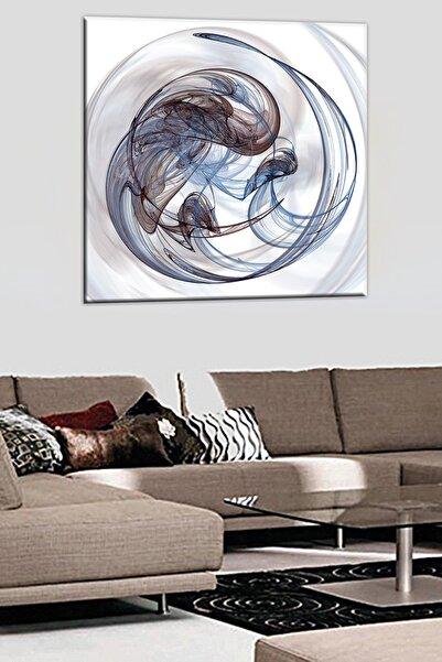 Talya Tablo Soyut Modern Tarz 3 Boyutlu Yağlıboya Görünüm Kanvas Tablo
