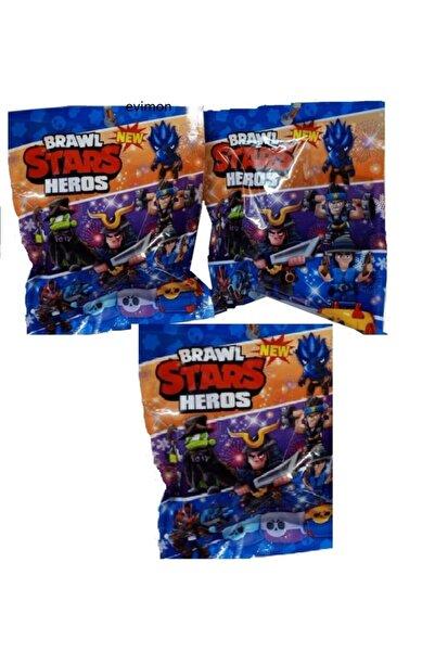 BRAWL STARS Sürpriz Paket Oyuncak 3 Paket