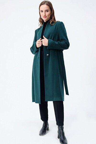 Aker Kadın Yeşil Kaban Y81020602