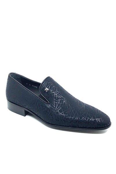 Fosco Erkek Lacivert Hakiki Deri Klasik Ayakkabı 248 8585-2m