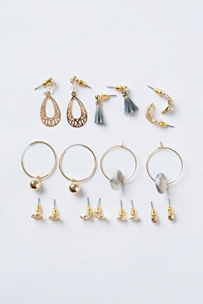 Gold Amata Küpe Set