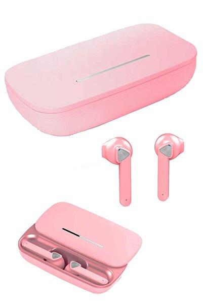 Escom Xiaomi Telefon Modelleri Ile Uyumlu Bluetooh Pembe Hd Ses Kalitesi V5.0 Kulaklık