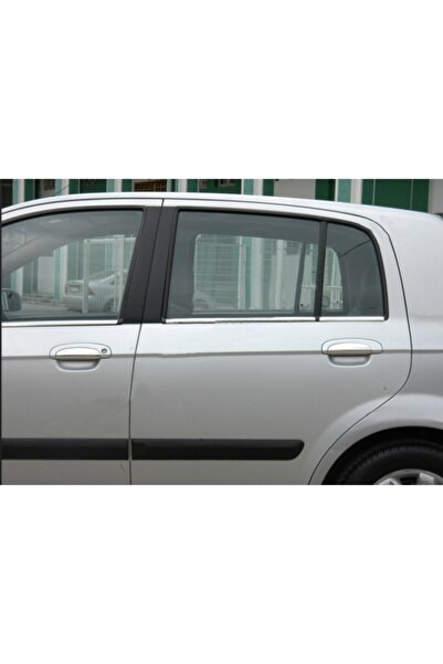 Hyundai Getz Krom Cam Çıtası 6 Parça 2002 Üzeri