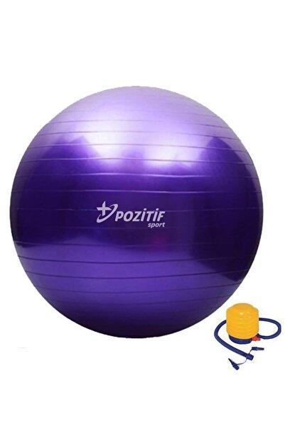 Taled 65 Cm Pilates Topu Büyük Boy Kalın Yoga Egzersiz Topu Pompalı