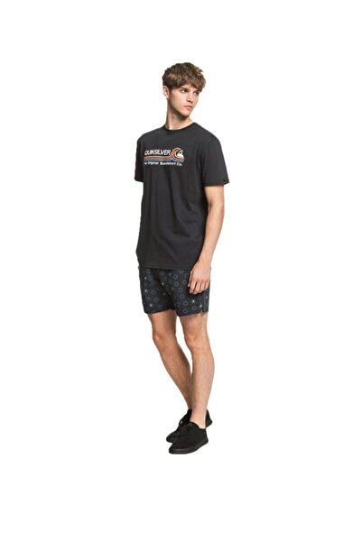 Quiksilver STONE COLD CLASSIC SS Siyah Erkek T-Shirt 101106967