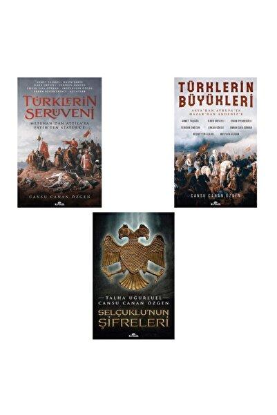 Kronik Kitap Türklerin Serüveni / Türklerin Büyükleri / Selçuklu'nun Şifreleri / Cansu Canan Özgen Set 3 Kitap