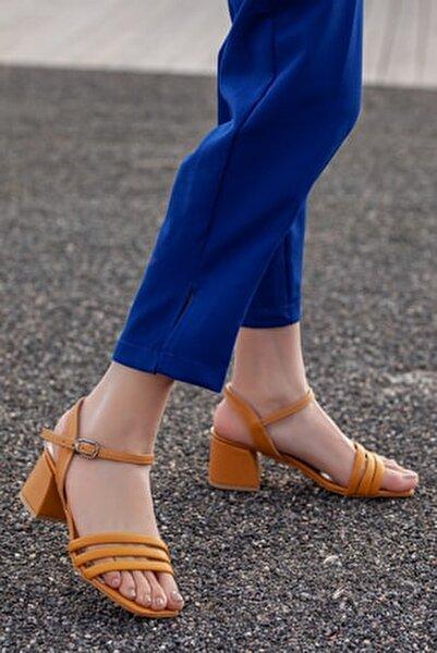D2180 Kadın Klasik Topuklu Ayakkabı