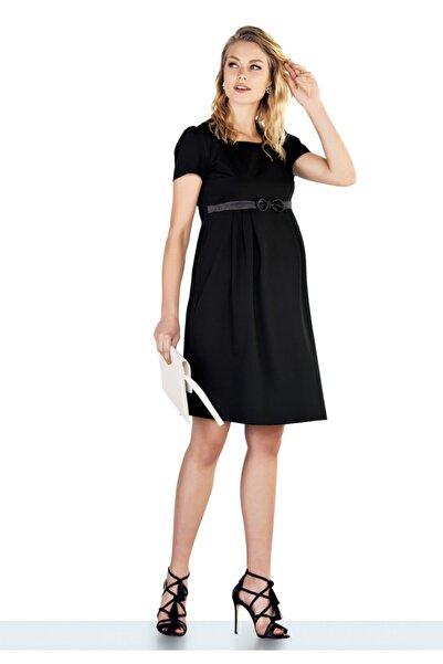 Ebru Maternity Kadın Kumaş Hamile Elbisesi 4280