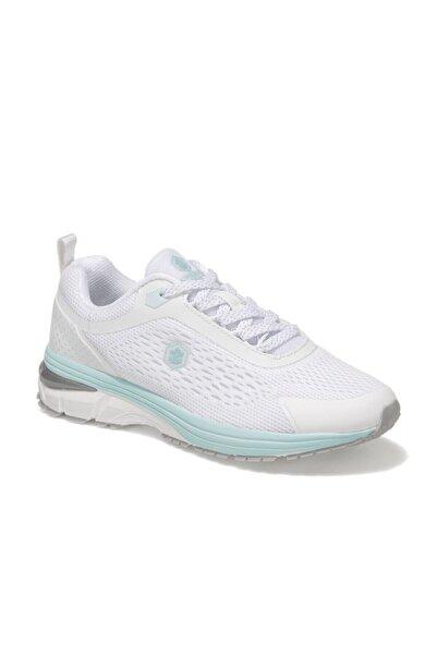 lumberjack Kadın Beyaz Bağcıklı Koşu Ayakkabısı