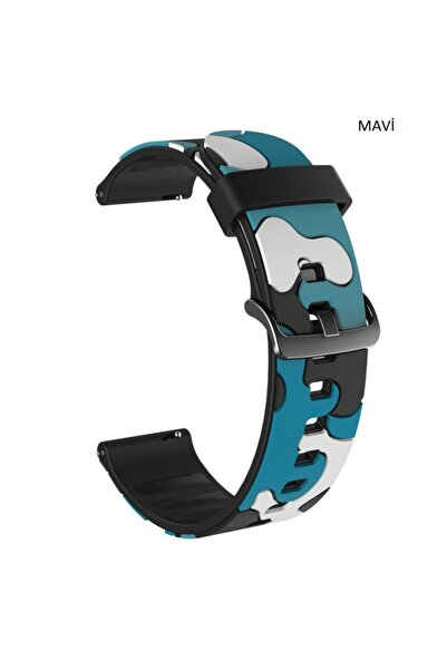 Techmaster Huawei Watch Gt Gt2 Honor Magic Watch 2 Kamuflaj Tme Kordon Kayış 22mm