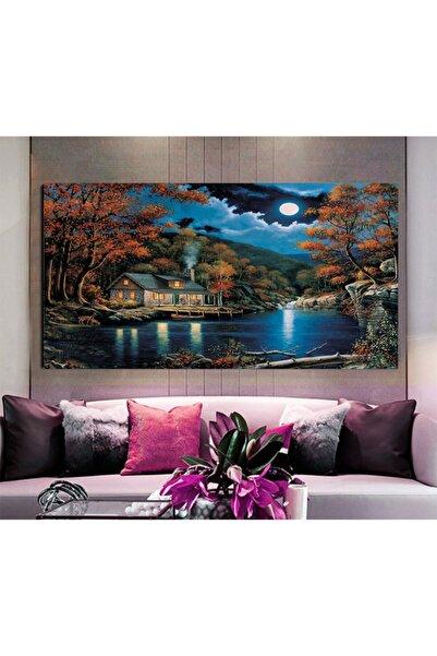 REYONART Led Işıklı Manzara Canvas Tablo