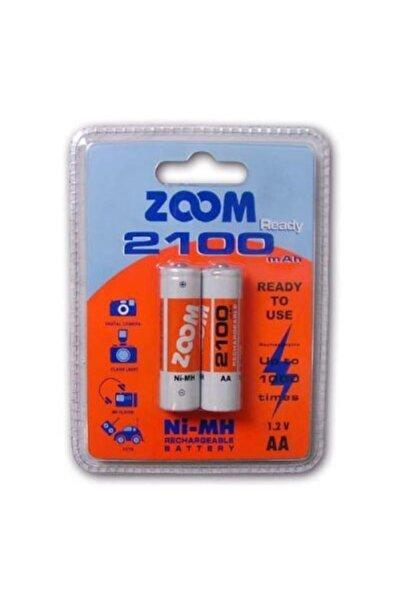 Zoom 2100 Mah Aa Ni Mh Şarjlı Kalem Pil