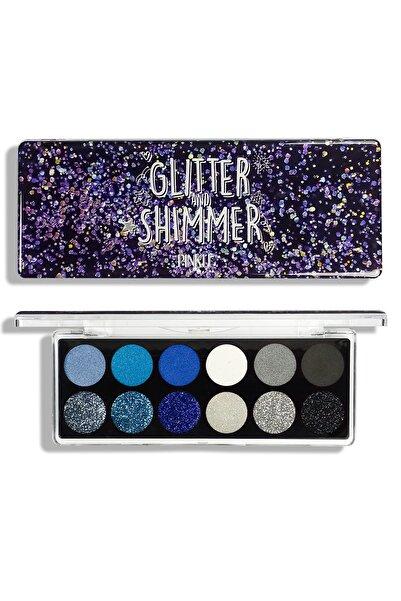 PINKLE Glitter&shimmer Far Paleti - Bluish