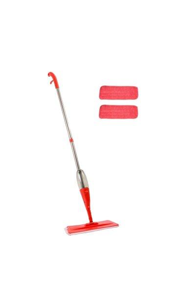 URVE Mikrofiber 2 Bezli Kırmızı Sprey Mop