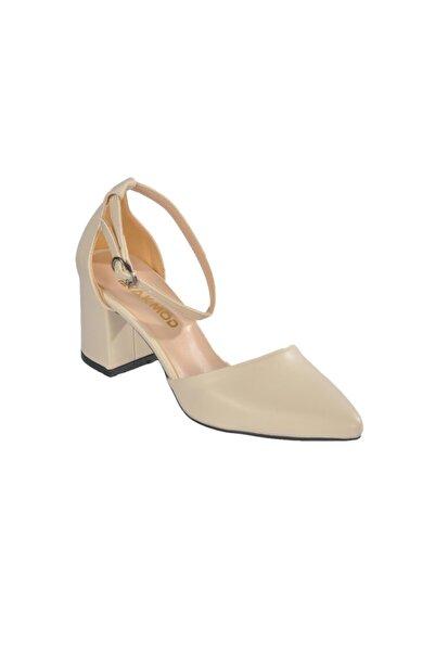 Maje Kadın Ten Topuklu Ayakkabı