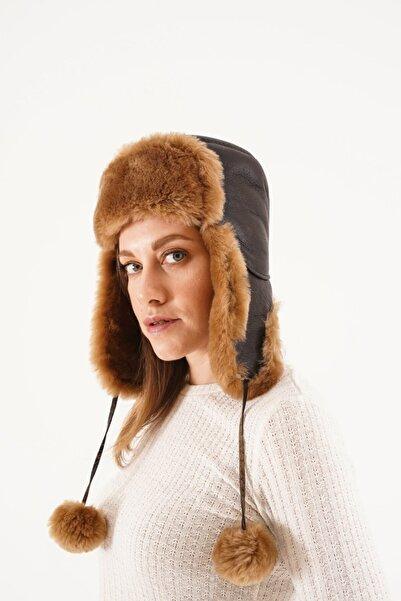 Pegia Unisex Kahverengi Şapka 20sb02