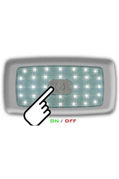 Sanel Tavan Lambası Sıcak-beyaz Dokunmatik 34 Ledli 12 Veya 24 Volt