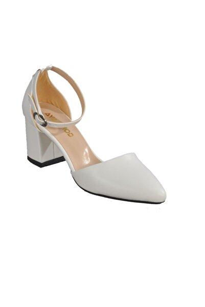 Maje Kadın Beyaz Topuklu Ayakkabı
