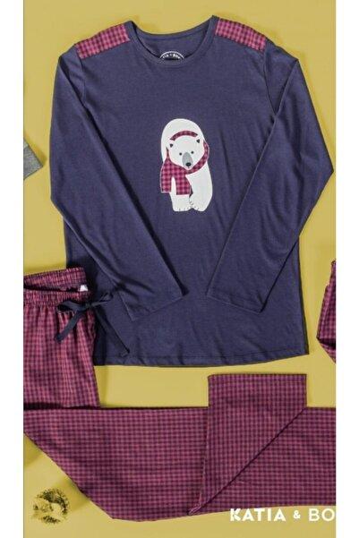 Katia&Bony Erkek Pijama Takımı Dady Bear