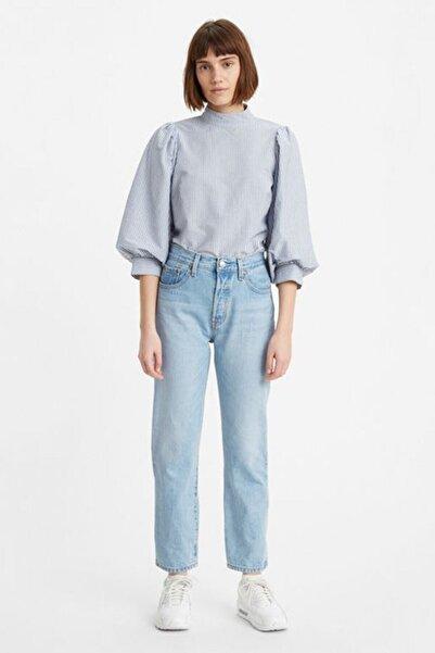 Levi's Kadın Mavi Yüksek Bel Pamuk Jeans  36200 501