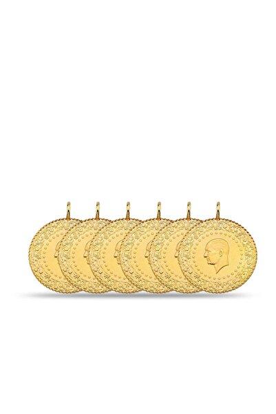 Maygold Eski  6 Adet Yarım Altın